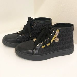 Micheal kors high top sneakers